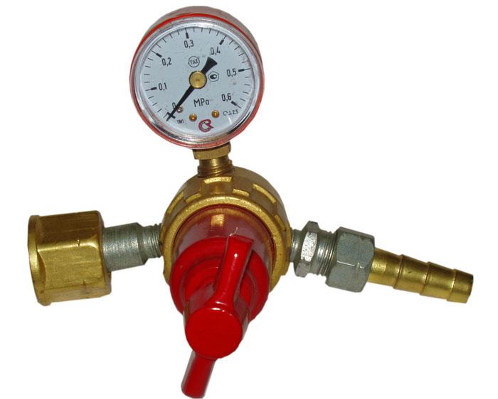 Редуктор кислородный баллонный одноступенчатый марки дкп-1-65.